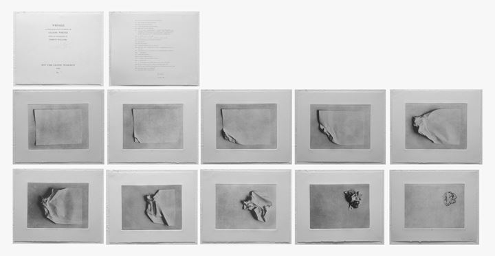 Liliana Porter, Wrinkle (1968). Photoetching. Plate size: 20.32 x 27.94 cm. Courtesy the artist.