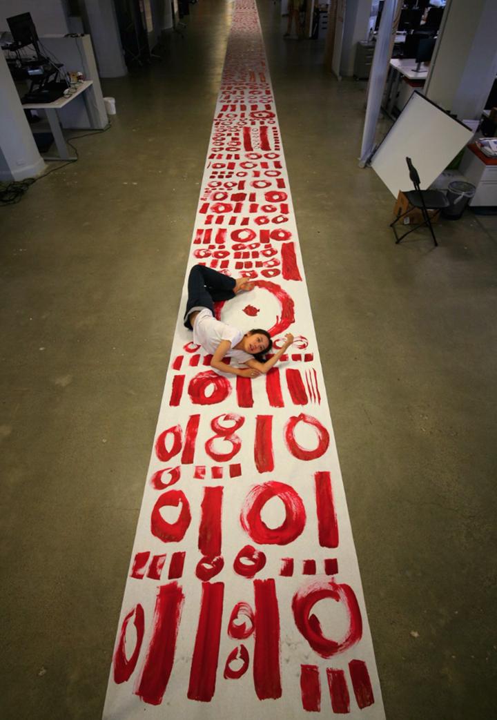 Qinmin Liu, Coding Project. Courtesy the artist.