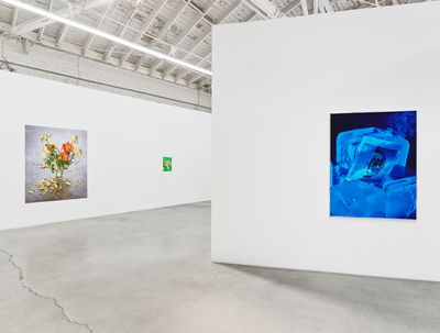 Exhibition view: Awol Erizku, Scorched Earth, Night Gallery, Los Angeles (18 September–23 October 2021).