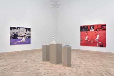 Exhibition view: Moyna Flannigan, Matter, Ingleby, Edinburgh (2 October–18 December 2021).