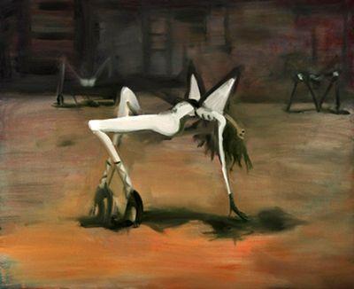 Moyna Flannigan, Three Eves (2014). Oil on linen. 110 x 90 cm.