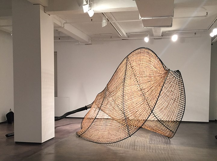 Exhibition view: Sopheap Pich, Expanses, Tyler Rollins Fine Art, New York (1 November–21 December 2018). Courtesy Asia Contemporary Art Week.