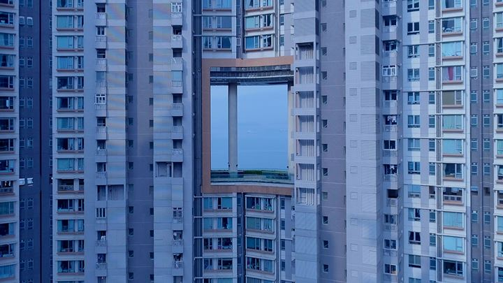 WangShui, From Its Mouth Came a River of High-End Residential Appliances (2018) (still). Courtesy the artist.