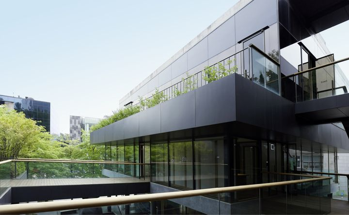 Exterior view of the new Pace Gallery Seoul.
