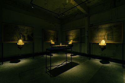 Yao Jui-Chung, Territory Takeover (1994). Exhibition view: Yao Jui-Chung: Republic of Cynic __(R.O.C.), Taiwan Contemporary Culture Lab, Taipei (1 May–5 July 2020).