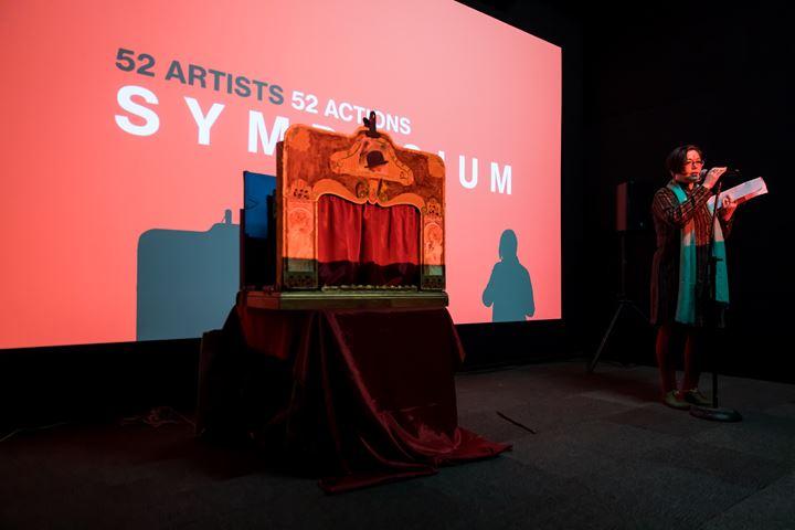 Ashmina Ranjit, Open Mic organised as part of 52 ARTISTS 52 ACTIONS symposium, Artspace, Sydney (20–21 July 2019). Courtesy Artspace, Sydney. Photo: Anna Kucera.