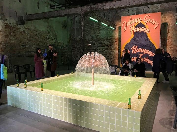 Slavs and Tatars, Dillio Plaza (2019). Exhibition view: May You Live in Interesting Times, 58th International Art Exhibition - La Biennale di Venezia (11 May–24 November 2019). Photo: Jill Angel Chun.