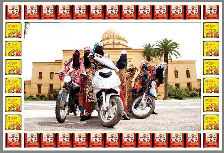 Hassan Hajjaj, Kesh Angels (2010–14). Photographic print. Courtesy the artist and Vigo Gallery.