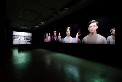 Hikaru Fujii, Mujō (The Heartless) (2019). Exhibition view: Taming Y/Our Passion, Aichi Triennale 2019, Aichi Prefecture (1 August–14 October 2019). Courtesy Aichi Triennale. Photo: Ito Tetsuo.