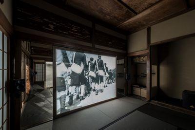 Ho Tzu Nyen, Hotel Aporia (2019). Exhibition view: Taming Y/Our Passion, Aichi Triennale 2019, Aichi Prefecture (1 August–14 October 2019). Courtesy Aichi Triennale. Photo: Ito Tetsuo.