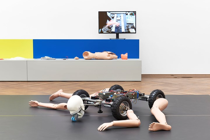 Exhibition view: Geumhyung Jeong, Homemade RC Toy, Kunsthalle Basel (3 May–11 August 2019). Photo: Philipp Hänger / Kunsthalle Base.