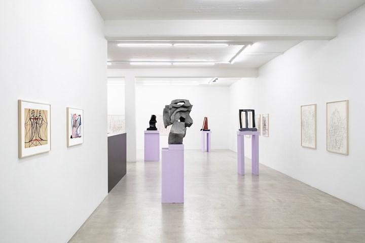 Exhibition view: Josef Herzog, Simone Holliger, Nicolas Krupp, Basel (16 May–31 August 2019). Courtesy Nicolas Krupp. Photo: Serge Hasenböhler.