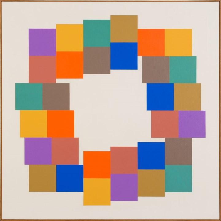 Verena Loewensberg, Untitled (1976). Courtesy Galerie Knoell.