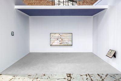 Exhibition view: Micah Hesse, Neumeister Bar-Am, Art Brussels (21–23 April 2017).