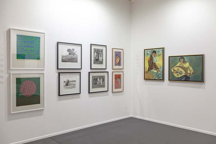 Exhibition view: Gallery One, Modern sector, Art Dubai (21–23 March 2019). Courtesy Art Dubai. Photo: Photo Solutions.