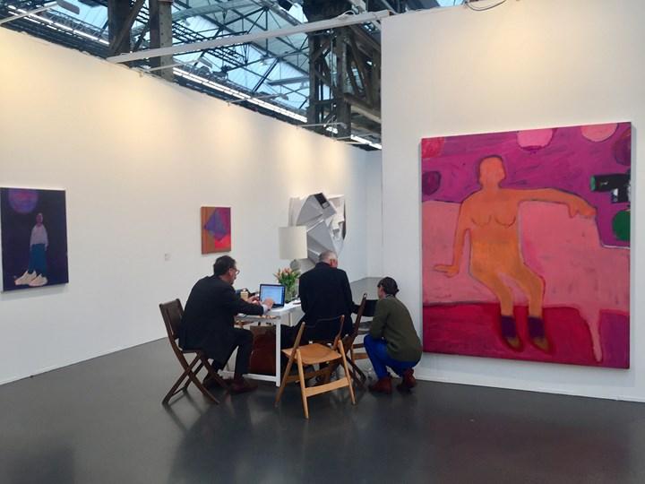 Exhibition view: CANADA and Linn Lühn, Art Düsseldorf (17–19 November 2017). Courtesy Ocula. Photo: Stephanie Bailey.