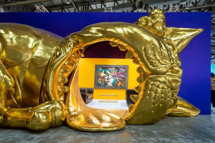 Ronald Ventura, Bobro's World Tour, Jakarta (2019). Exhibition view: Spot sector, Art Jakarta, Jakarta (30 August–1 September 2019). Courtesy Yavuz Gallery.
