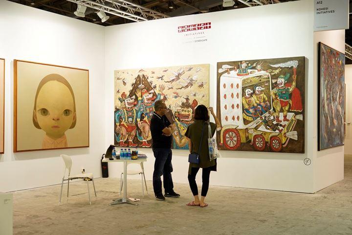 Exhibition view: Srisasanti, Art Jakarta, Jakarta (30 August–1 September 2019). Courtesy Art Jakarta.