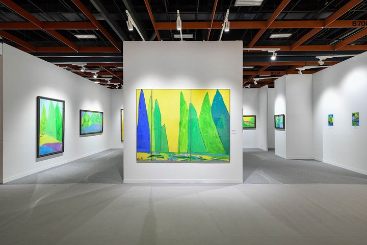 Exhibition view: Longmen Art Projects, Art Taipei (26–29 October 2018). Courtesy Art Taipei.
