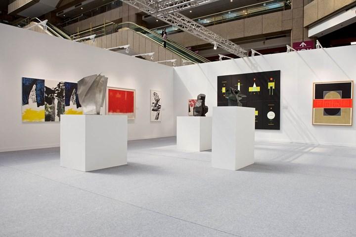 Exhibition view: Resonance. Loop. Art in Post-War Taiwan, Art Taipei (26–29 October 2018). Courtesy Art Taipei.