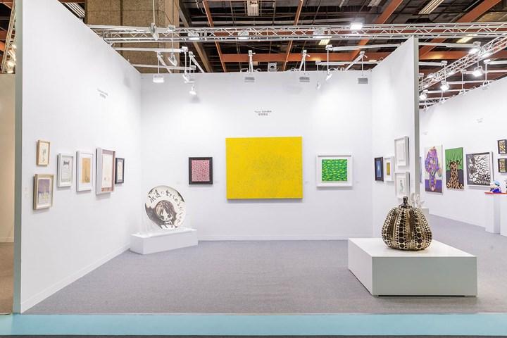 Exhibition view: Whitestone Gallery, Art Taipei (26–29 October 2018). Courtesy Art Taipei.