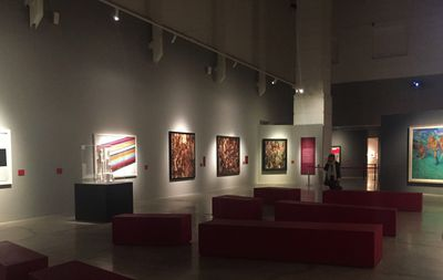 Exhibition view: Revolutija: From Chagall to Malevich, from Repin to Kandinsky, Museo d'Arte Moderna di Bologna (12 December 2017–13 May 2018). Photo: Stephanie Bailey.