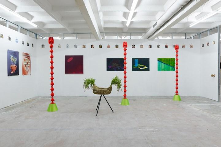 Exhibition view: Antenna Space, Paris Internationale, Paris (18–22 October 2017). Courtesy Paris Internationale.
