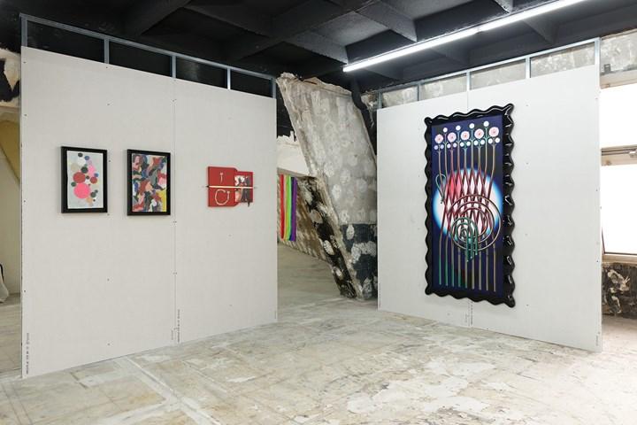 Exhibition view: Bodega, Paris Internationale, Paris (18–22 October 2017). Courtesy Paris Internationale.