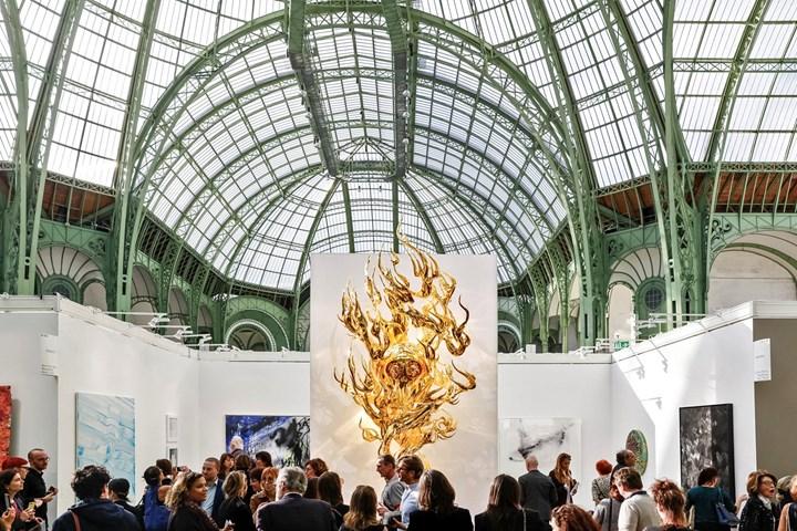 Exhibition view: Galerie Perrotin, FIAC, Paris (19–22 October 2017). Courtesy Ocula. Photo: Charles Roussel.