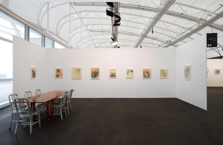 Séraphine Pick, 'Natural Behaviour' (2019). Exhibition view: Michael Lett, Auckland Art Fair, The Cloud, Auckland (2–5 May 2019). Courtesy Michael Lett.
