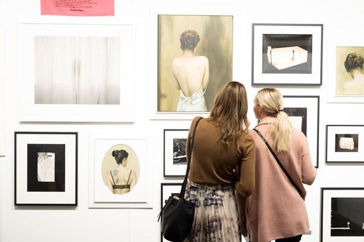 Exhibition view: Trish Clark Gallery, Auckland Art Fair, The Cloud, Auckland (2–5 May 2019). Courtesy Auckland Art Fair.