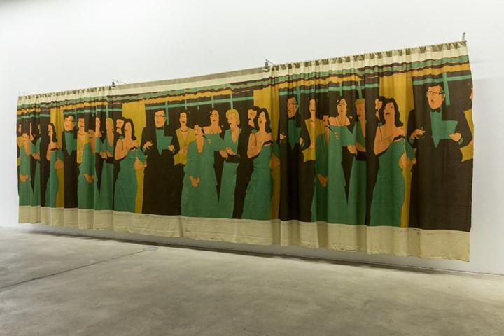 Beatriz González, Decoración de Interiores (1981). Exhibition view: Beatriz González, Retrospective 1965–2017, KW Institute for Contemporary Art, Berlin (13 October 2018–6 January 2019). Courtesy KW Institute for Contemporary Art. Photo: Frank Sperling.