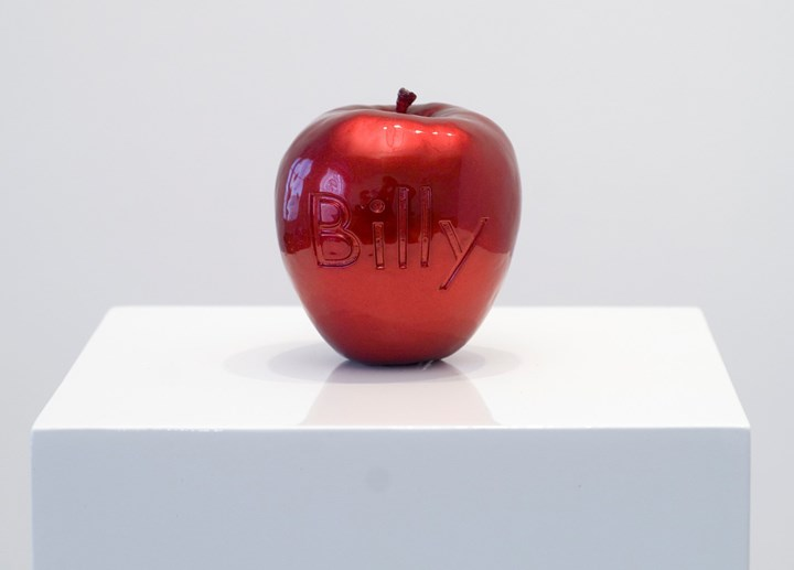 Billy Apple, Class 31. Billy Apple® Cultivar (Red) (2007). Painted polyester cast. 9.7 x 8.5 cm. Courtesy Rossi & Rossi.