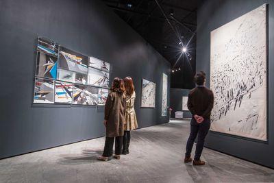 Installation image: Zaha Hadid, There Should Be No End To Experimentation, ArtisTree, Hong Kong (17 March– 6 April 2017).