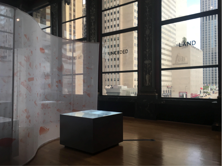 Exhibition view: Chicago Architecture Biennial,  . . . and other such stories (19 September 2019–5 January 2020). Photo: the author.