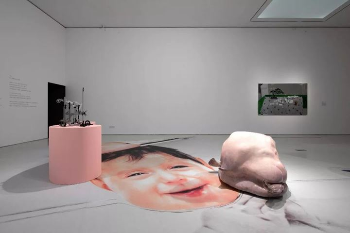 Christopher K. Ho, Blobfish (2019). Exhibition view: Forget Sorrow Grass: An Archaeology of Feminine Time, Times Museum, Guangzhou (14 September–17 November 2019). Courtesy: Times Museum.