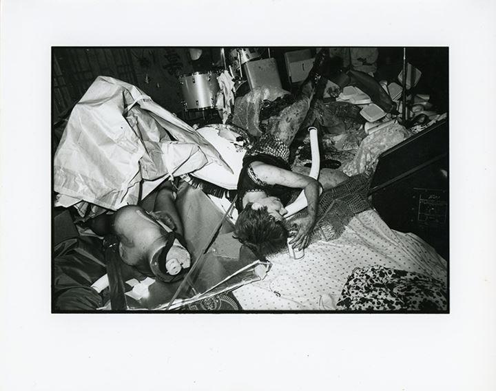 Johanna Went, Hong Kong Café, Los Angeles, CA, 1 September 1980. Photo: Alan Peak.