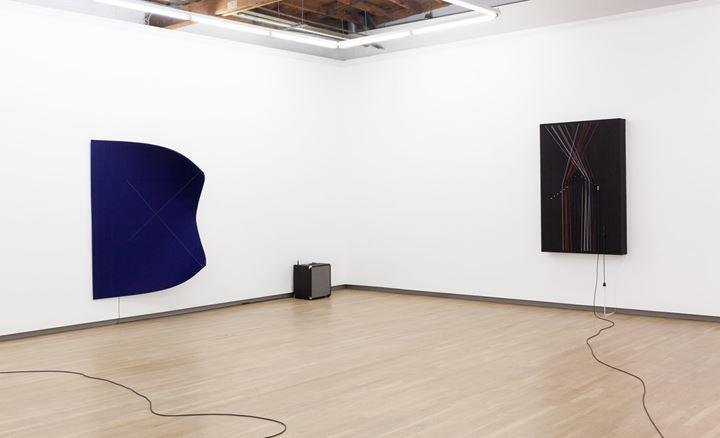 Exhibition view: Naama Tsabar, Inversions, Shulamit Nazarian, Los Angeles (10 January – 29 February 2020). Courtesy Shulamit Nazarian.
