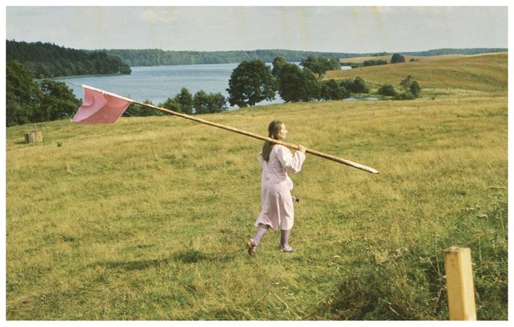 Maria Pinińska-Bereś, Aneksja Krajobrazu (Landscape Annexation) (1980). Performance and installation. Courtesy The Approach.