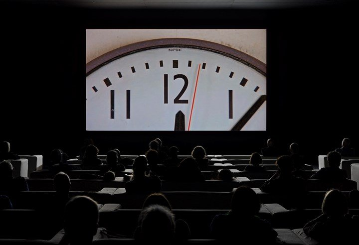 Christian Marclay, The Clock (2010). Single-channel video installation. 24 hours. © the artist. Photo: Tate Photography (Matt Greenwood).