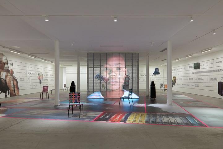 Exhibition view: Martine Syms, Grand Calme, Sadie Coles HQ, Kingly Street, London (6 September–20 October 2018). © Martine Syms. Courtesy Sadie Coles HQ, London. Photo: Robert Glowacki.