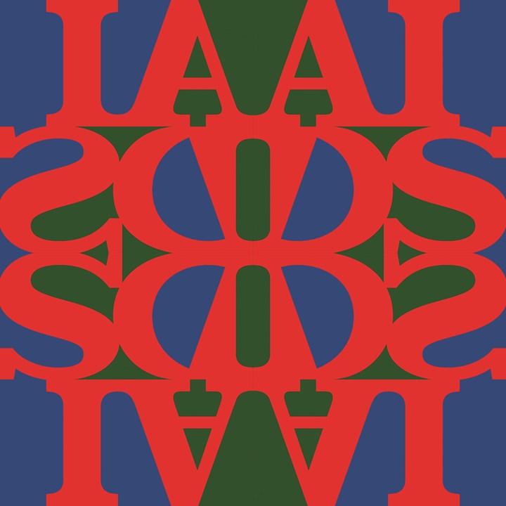 AA Bronson, AIDS Logo. © General Idea. Courtesy Maureen Paley.