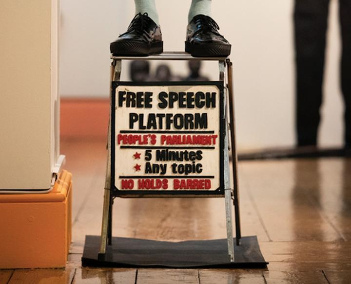 Ishmahil Blagrove Jr's Free Speech Platform (2015)
