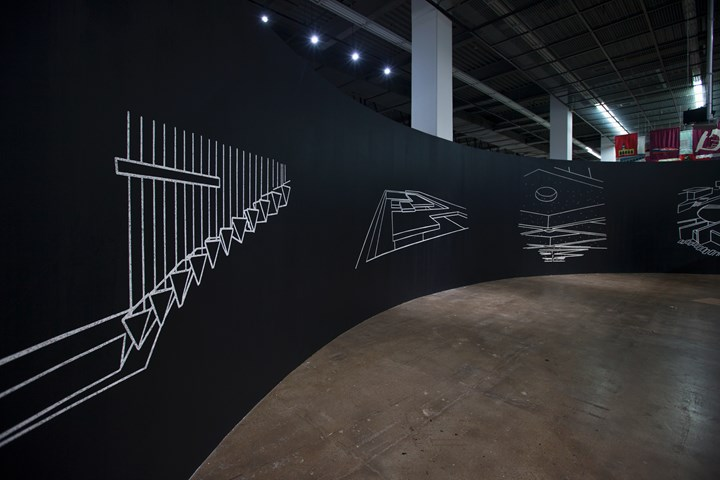 Yto Barrada, Agadir (2018). Exhibition view: 12th Gwangju Biennale: Imagined Borders, Gwangju (7 September–11 November 2018). Courtesy Gwangju Biennale Foundation.