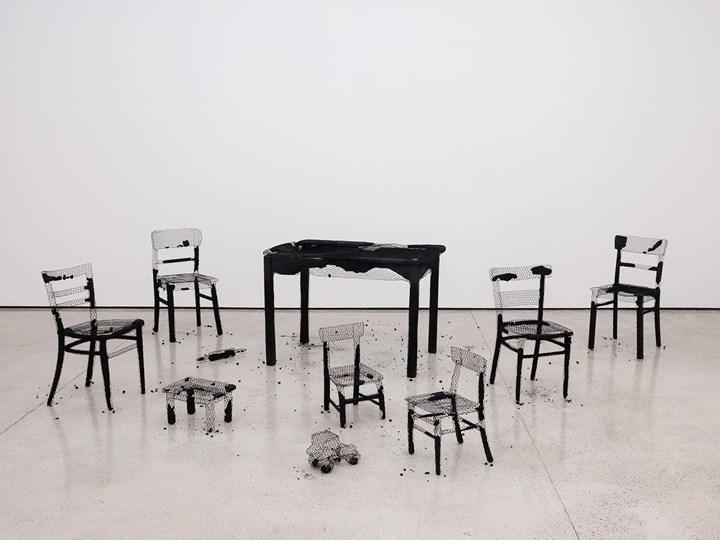 Exhibition view: Mona Hatoum, Remains of the Day, White Cube, Hong Kong (7 September–17 November 2018). Courtesy © White Cube. Photo: © Kitmin Lee.