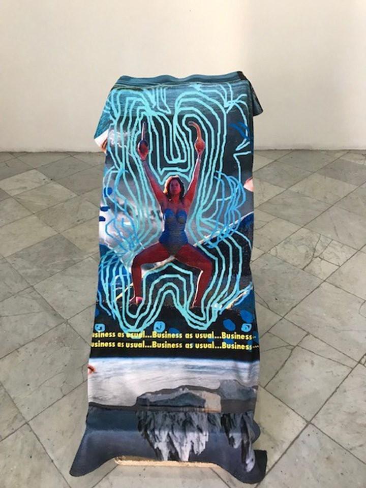 Alberta Whittle, Entre un susurro y el llanto (2019). Exhibition view: 13th Havana Biennial, Casa de Simón Bolívar (12 April–12 May 2019). Photo: Federica Bueti.