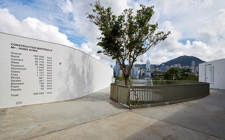 Exhibition view: Five Artists: Sites Encountered, M+ Pavilion, Hong Kong (7 June–10 October 2019). Courtesy M+, Hong Kong.
