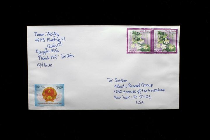 Tuan Andrew Nguyen, Letters from Saigon to Saigon (2008). Nine chromogenic prints. 11 x 84 cm. Asia Society, New York. Gift of Dr. Andreas Teoh, 2018.12.1-9. Courtesy Asia Society, New York.