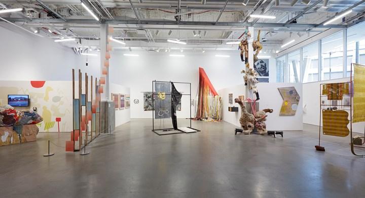 Exhibition view: BRIC Biennial, Volume III, South Brooklyn Edition, New York (7 February–7 April 2019). Courtesy BRIC. Photo: Jason Wyche.