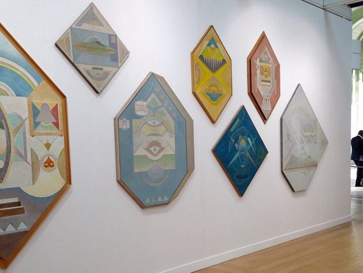 Exhibition view: Alexandru Chira at Delmes & Zander, FIAC Paris (18–21 October 2018). Copyright ALCHIRA Foundation. Courtesy Delmes & Zander.